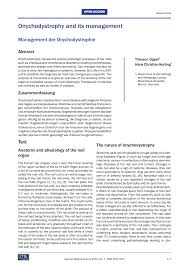 pdf onychodystrophy and its management