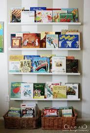 Displaying Books In The Playroom Jones Design Company Ikea Picture Ledge Ikea Book Kids Book Storage