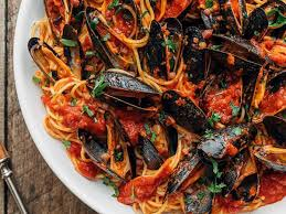 Mussels in Tomato Sauce Italian Recipes ...