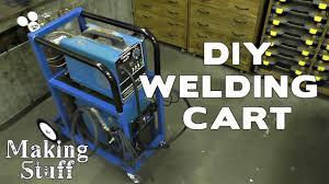 making a diy welding cart you