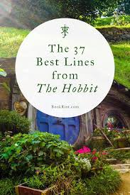 the best lines from the hobbit