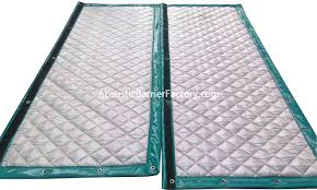 Outdoor Soundproofing Material Portable Exterior Soundproofing Wall Acoustic Barrier Factory