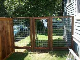 Hog Panel Fence And Gate Fence Design Fence Planning Hog Wire Fence