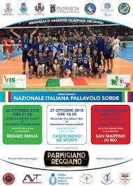 A REGGIO EMILIA STAGE NAZIONALE ITALIANA SORDE | Il portale della pallavolo