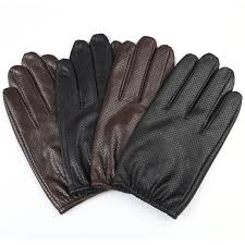 2020 mens leather gloves autumn high