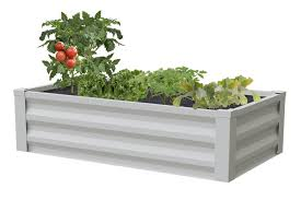 Metal Raised Garden Bed 47 In X 26 In X 12 In Rcm24 Greenes Fence Greenes Fence Company