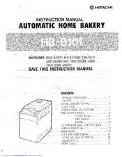hitachi hb b101 manuals manualslib
