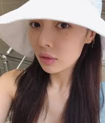 hyuna who was suspected of lip filler