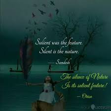 the silence of nature is quotes writings by meenu minocha