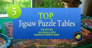 top 5 jigsaw puzzle tables ideal