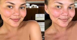 would look like without makeup