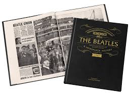 beatles newspaper book signature gifts