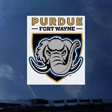 Purdue University Fort Wayne Mastodons Decal Purdue University Fort Wayne