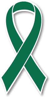 Amazon Com Green Liver Cancer Awareness Ribbon Car Magnet Decal Heavy Duty Waterproof Automotive