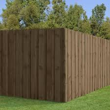 Outdoor Essentials 1 In X 6 In W X 6 Ft H Cedar Dog Ear Fence Picket In The Wood Fence Pickets Department At Lowes Com