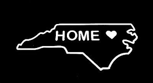 Nc North Carolina State Outline Heart Home Vinyl Decal Sticker Car Truck 75117 Sfhs Org