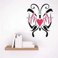 Custom Wall Decal Sticker Mom Butterfly Design Children Son Daughter Family Love Quote 15x15 Inches Walmart Com Walmart Com