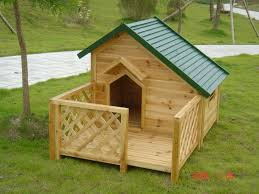 Hot Sale Fir Wood Dog House With Big Fence Manufacturers And Factory China Customized Products Wholesale Jiyu Wooden