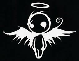 Details About Cci Emo Angel Decal Vinyl Sticker Cars Trucks Vans Walls Laptop White 5 5 X 4 In 2020 Angel Decals Anime Decals Car Decals Vinyl