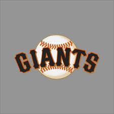 San Francisco Giants Mlb Team Logo Vinyl Decal Sticker Car Window Wall Cornhole Ebay Mlb Team Logos Vinyl Decals Mlb Teams