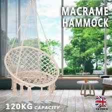 hanging hammock rope swing chair