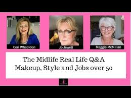 midlife chat show q a on makeup over