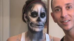 lady a born this way skeleton tattoo