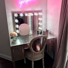 hollywood style mirror with lights uk