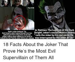 25 best memes about joker makeup