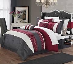 chic home carlton 6 piece comforter set