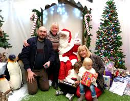 santa at wyevale and a weekend of