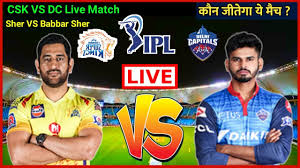IPL Live Match CSK VS DC