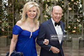 Wilbur Ross, U.S. commerce secretary, right, and Hilary Ross arrive... News  Photo - Getty Images