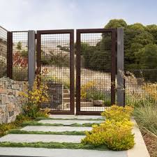 Metal Fence Design Ideas Pictures Remodel And Decor Metal Fence Deer Fence Fence Design