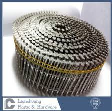 quality snless steel coil nails on