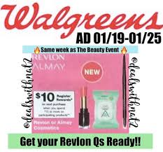 walgreens 1 19 beauty event the