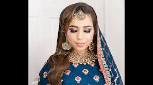 bridal look smokey eyes asian bridal