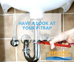 clogged drain have a look at your p