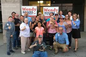 Republican Congressional Candidate, Wendy Rogers booted from Flagstaff  Denny's   GilaValleyCentral.Net