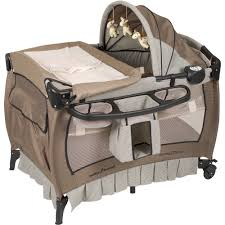 Baby Trend Deluxe Ii Nursery Center Playard Havenwood Walmart Com Walmart Com
