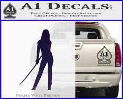 Kill Bill Black Mamba D1 Decal Sticker A1 Decals