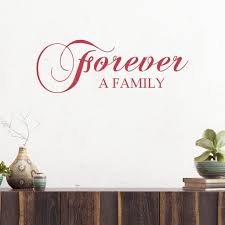 Forever A Family Vinyl Wall Decal Decal The Walls