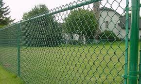 Green Chainlink Fence Superior Fence Construction 503 760 7725 Chain Link Fence Installation Black Chain Link Fence Chain Link Fence Gate
