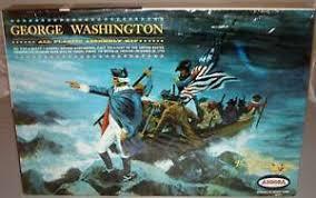 GEORGE WASHINGTON 1965 AURORA MODEL KIT UN-MADE - EXTREMELY RARE | eBay