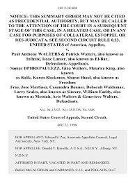 United States v. Paul Anthony Walters & Patrick Walters, Also Known as  Infinite, Isaac Lanier, Also Known as El-Bar, Samar Dphrepaulezz, Gina  Walters, Maurice King, Also Known as Balik, Karen Blackmon, Shawn