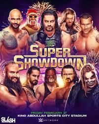 WWE Super Showdown 2020 Poster by WWESlashrocker54 on DeviantArt