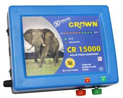 Solar Fence Energizer Cr15000 Power 750 Ma Crown Power Fencing Systems Id 7807048762