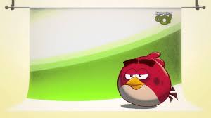Angry Birds Go! Character Reveals: Red YouTube Desktop Background