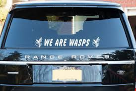 Wasps Rugby Themed Decal Window Sticker Logo Free P P Ebay