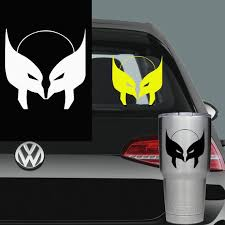 Wolverine Symbol Decal Vinyl Decal Car Laptop Window Decals Etsy